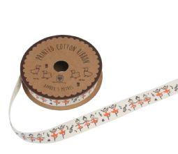 Vintage Style Ballerina Print Ribbon